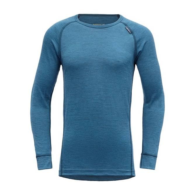 Bilde av Devold Breeze Junior Shirt Blue Melange