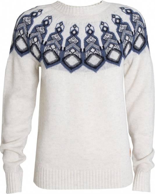 Bilde av Tufte W Rosenfink Pattern Sweater Off white
