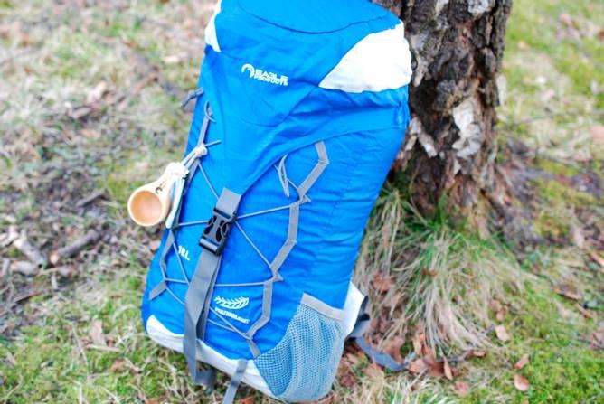 Bilde av Ryggsekk 18 L Superlett Blå - Sammenleggbar