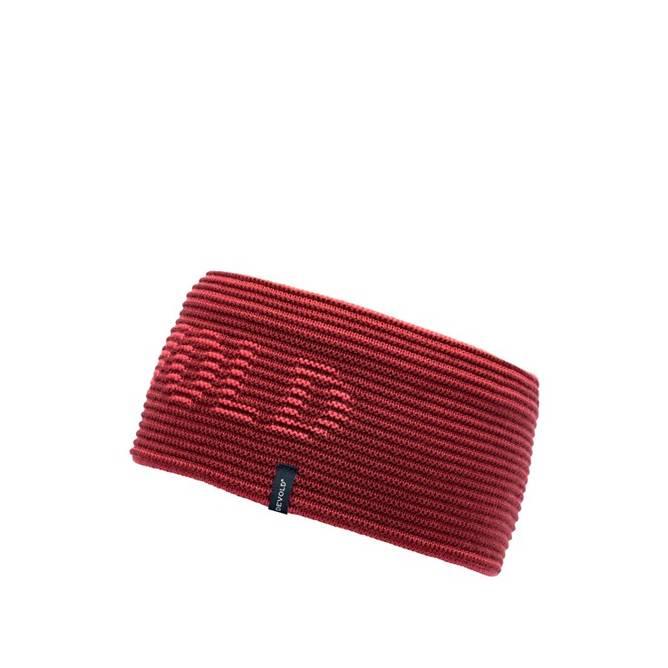 Bilde av Devold Rib Logo Headband Poppy One Size